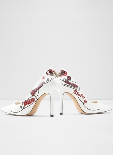 Aldo Johanna - Beyaz Kadin Topuklu Ayakkabi Beyaz